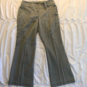 NY&Co with gorgeous side detail pants!